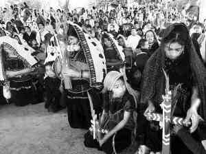 Mass in memory of the victims of the Acteal Massacre- via La Jornada (2010).